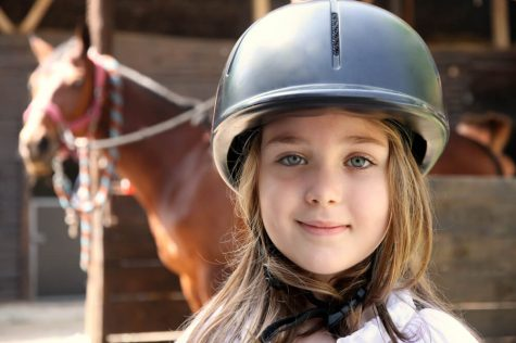 kids girl horse riding adults pony party lessons